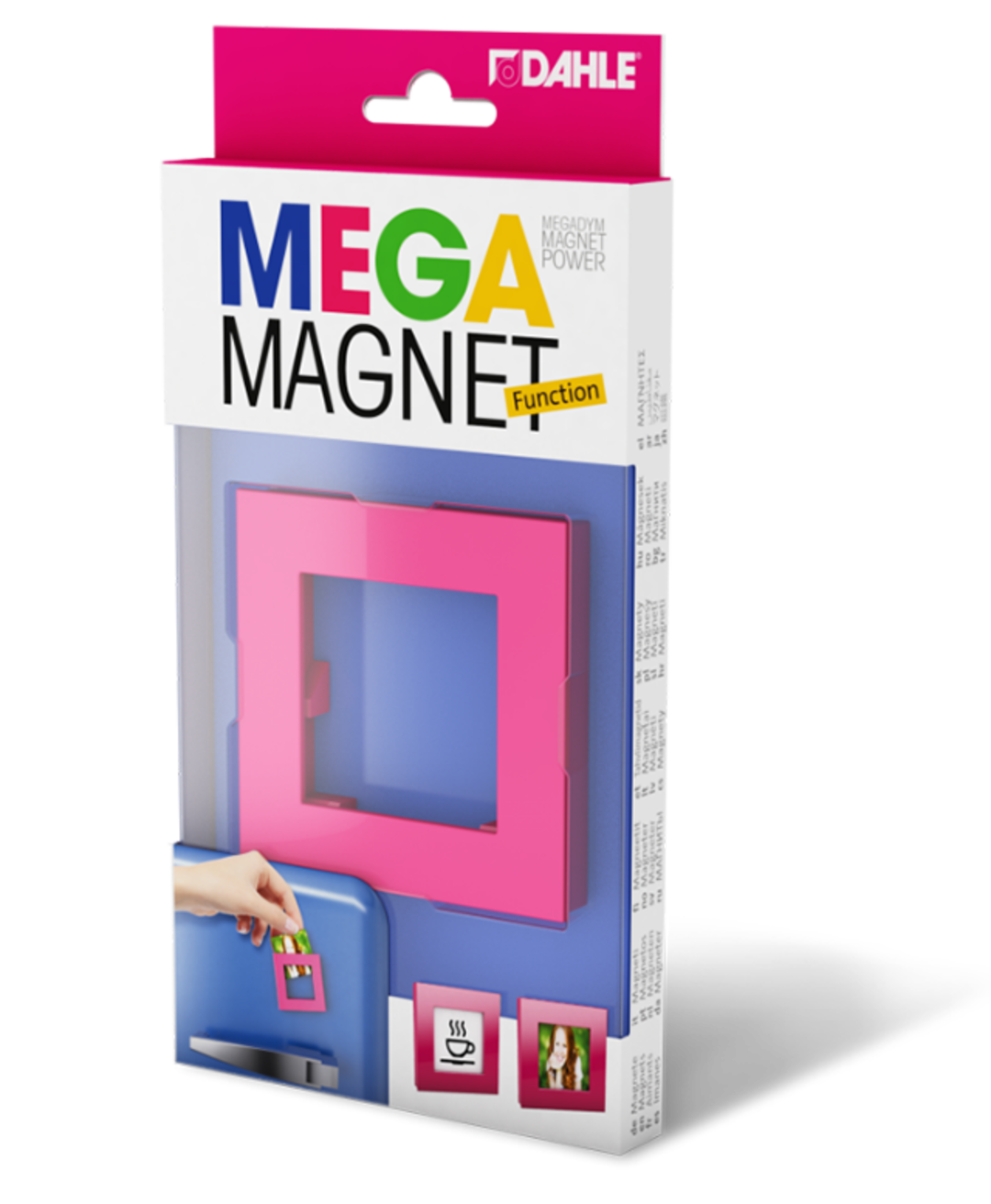 [Translate to English:] Verpackung von Dahle MEGA Magnet