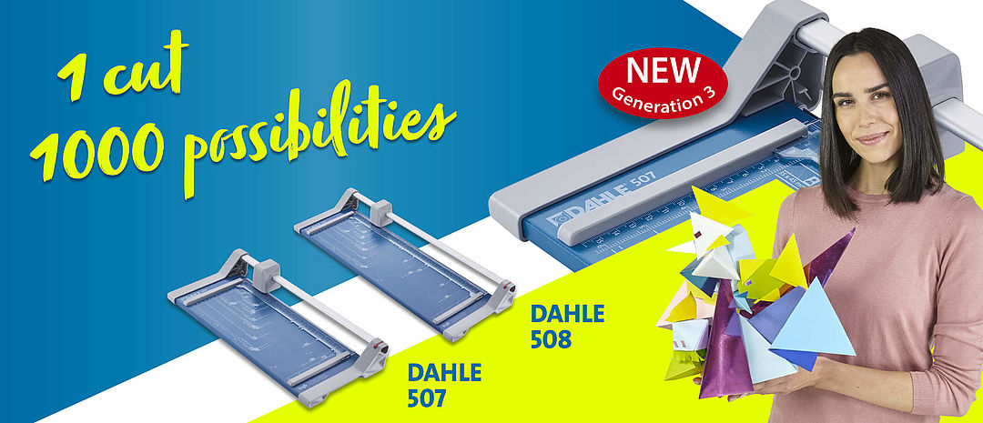 Dahle rotary trimmers and guillotines