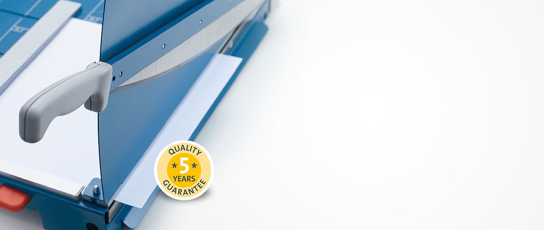 Cutting machines from Dahle: Precision has a long tradition: guaranteed!