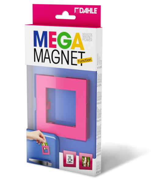 Magnet as a picture frame for photos